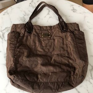 Marc Jacobs Brown Work Bag